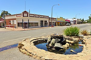 Brookton, Western Australia - View of Robinson Road, Brookton, 2014