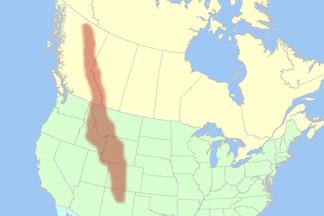 eigentliche Rocky Mountains in Kanada und den USA
