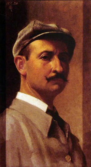 Rodolfo Amoedo - Earlier self-portrait