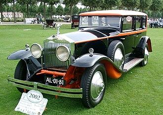 F-segment - 1925-1931 Rolls-Royce Phantom I