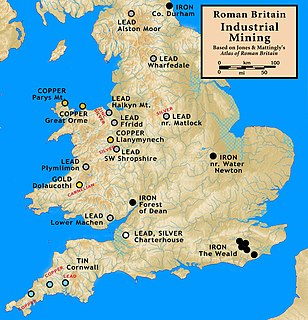 Mining in Roman Britain