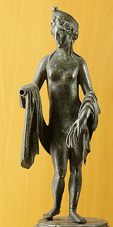 Venus, Ancient Roman bronze figurine, 1st–2nd centuries AD.