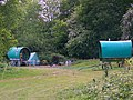 Romany caravans, Bramdean Common - geograph.org.uk - 1331445.jpg
