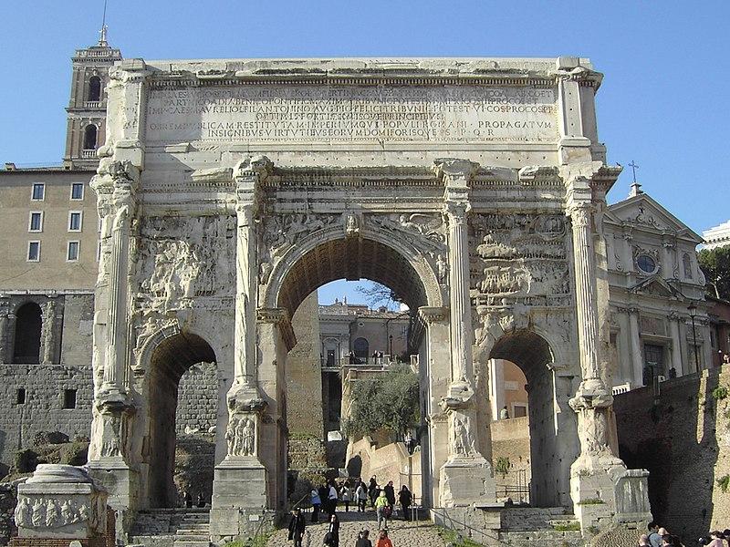 File:RomeForumRomanumArchofSeptimiusSeverus01.jpg