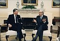 Ronald Reagan and Javier Perez de Cuellar in the Oval Office.jpg