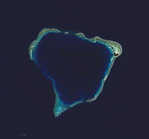 Rongerik Atoll - NASA picture of Rongerik Atoll