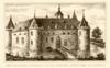 foto van Terrein waarin overblijfselen van het kasteel Rosande