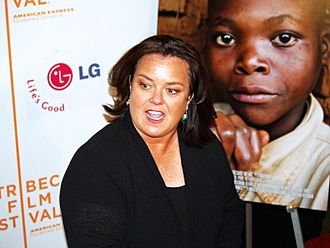 Rosie O'Donnell - O'Donnell at the 2008 Tribeca Film Festival premiere for the I Am Because We Are documentary, about the millions of orphans in the African country of Malawi who lost parents and siblings to HIV and AIDS. Her passion for protecting children has led her to be outspoken on issues affecting them, including world affairs and adoption.