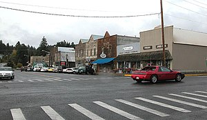 Roslyn, Washington - Downtown Roslyn