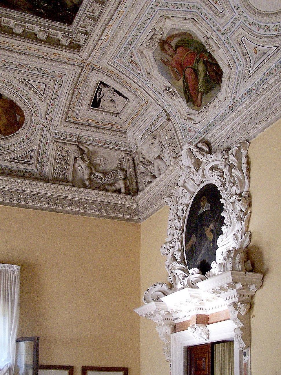 Rotonda ceiling