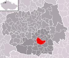 Roudnice nad Labem na mapě