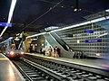 Rouen MétroBus station Gare de Rouen Rue Verte.jpg