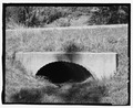 Route 87, small concrete culvert. View SW. - Wind Cave Roads and Bridges, Hot Springs, Fall River County, SD HAER SD-55-25.tif