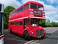 Routemaster bus RML 2686 Routemaster 50 livery SMK 686F Metrocentre rally 2009 pic 2.JPG