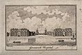 Royal Naval Hospital, Greenwich, with a ship and rowing boat Wellcome V0013280.jpg