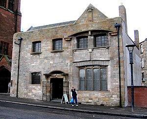 Ruchill Church Hall - Street facade