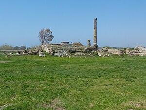 Liternum - Ruins of Liternum, Lago Patria