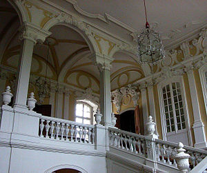 Ernst Johann von Biron - Biron's residence in Rundale, Latvia.