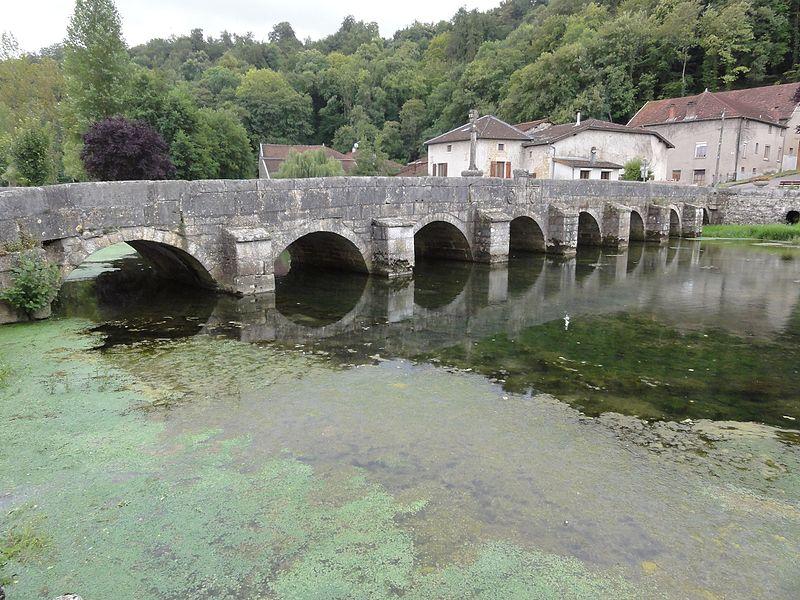Rupt-aux-Nonains (Meuse) pont sur la Saulx