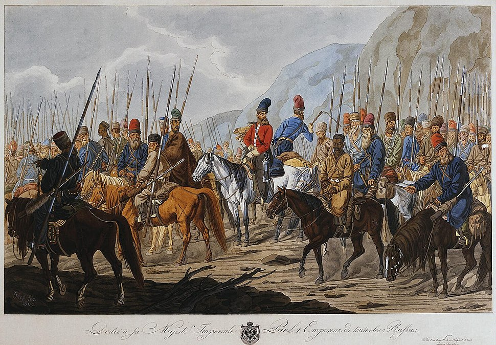 Russian-Cossacks-on-March