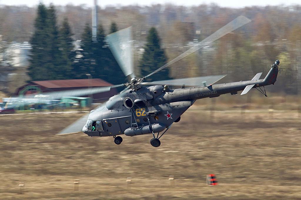المروحيه العتيده Mil Mi-8 HIP 1024px-Russian_Air_Force_Mil_Mi-8MTV-5_Beltyukov-1
