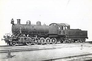Russian locomotive class Ye - Locomotive Еф-1 at the Baldwin factory, before shipment.