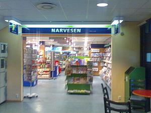 Narvesen - Narvesen store in Førde, Norway