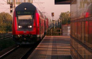 Dresden S-Bahn - S 2 train at Dobritz station