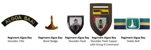 SADF Regiment Algoa Bay insignia ver 2