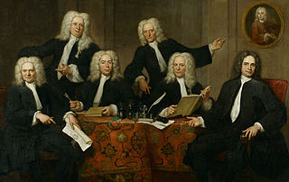 The directors of the surgeon's guild of Amsterdam, 1732