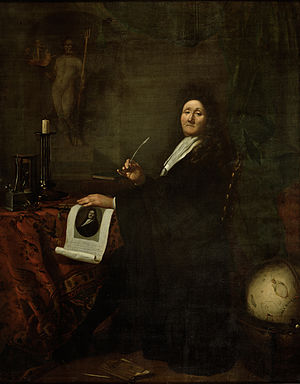 Ludolf Bakhuizen - Self-portrait