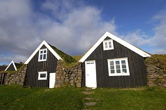 Skaftafell - The old farmhouse in Sel.