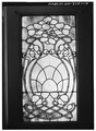 STAINED GLASS DOOR PANEL - Christian Hess House, 811 Main Street, Wheeling, Ohio County, WV HABS WVA,35-WHEEL,34-14.tif