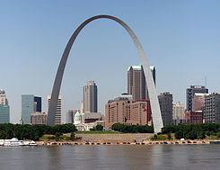 Jefferson National Expansion Memorial (Gateway Arch)