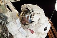 STS-134 EVA3 Michael Fincke 1