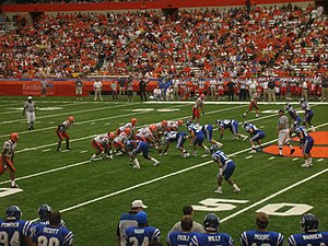 Syracuse metropolitan area - Syracuse University's football team plays its games in the Carrier Dome.