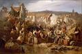 Sa Majesté l'Empereur distribuant des secours aux inondés de Lyon.png