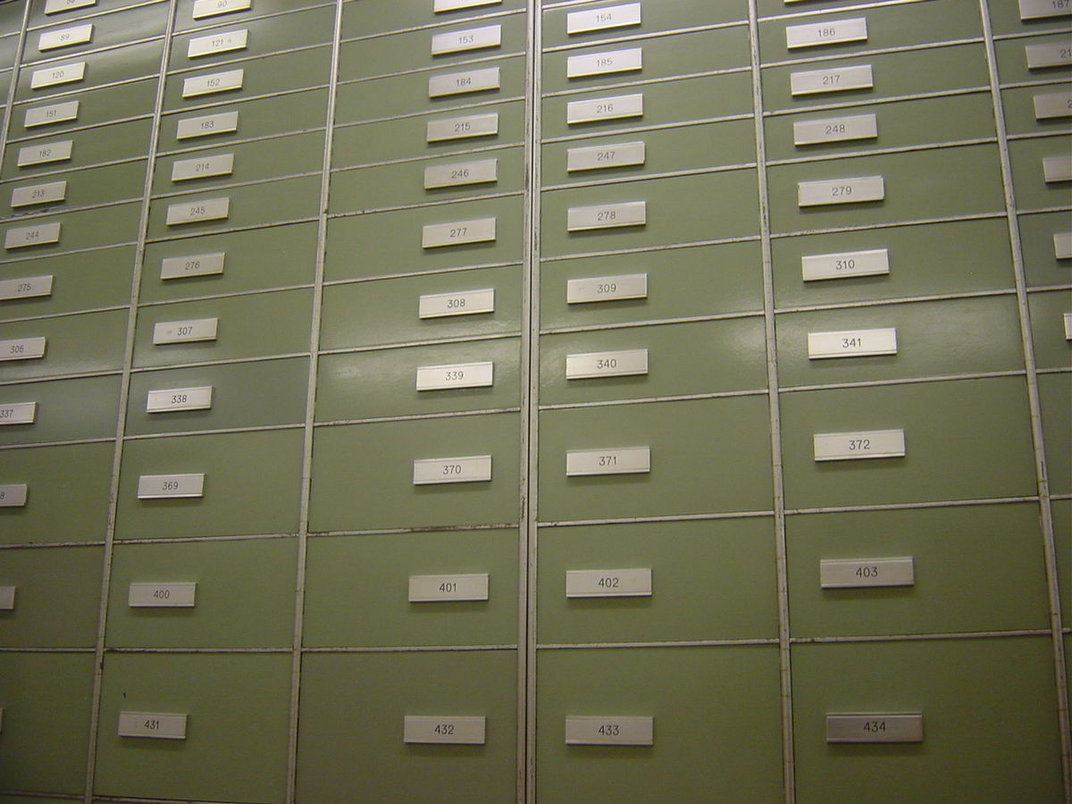 Safe deposit box - Wikipedia
