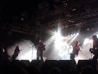 Sahg - Sahg performing live at Wacken Open Air, Germany, 2007.