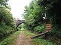 Saint-Maurice-d'Ardèche - Voie verte - Pont et chemin d'accès.jpg