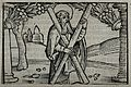 Saint Andrew. Wood engraving. Wellcome V0031546.jpg
