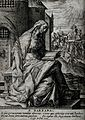 Saint Barbara. Engraving. Wellcome V0031658.jpg