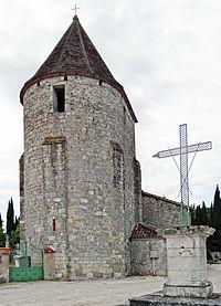 Sainte-Colombe-de-Villeneuve - Église Sainte-Madeleine de Laurier -1.JPG