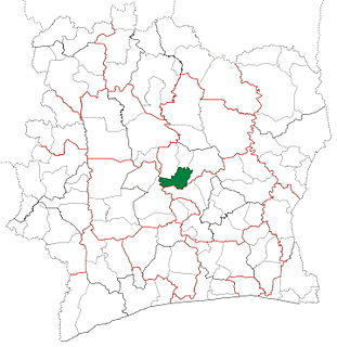 Sakassou Department Department in Vallée du Bandama, Ivory Coast