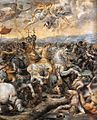 Sala di costantino, battaglia di Ponte Milvio 04.jpg