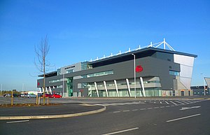 AJ Bell Stadium - Image: Salford City Stadium geograph.org.uk 2865260