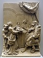Salome Shows the Head of St. John the Baptist to Herod Antipas, by Georg Schweigger studio, Nurnberg, probably c. 1648, Solnhofer stone - Bode-Museum - DSC03410.JPG