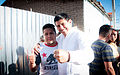 Salomon Jara y Andres Manuel Lopez Obrador en San Baltazar Chichicapam 08.jpg