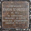 Salzburg - Gnigl - Turnerstraße 6 - Stolperstein Johann Schweitzer-1.jpg