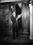 Sam Babicci holding saxophone (4623731458).jpg